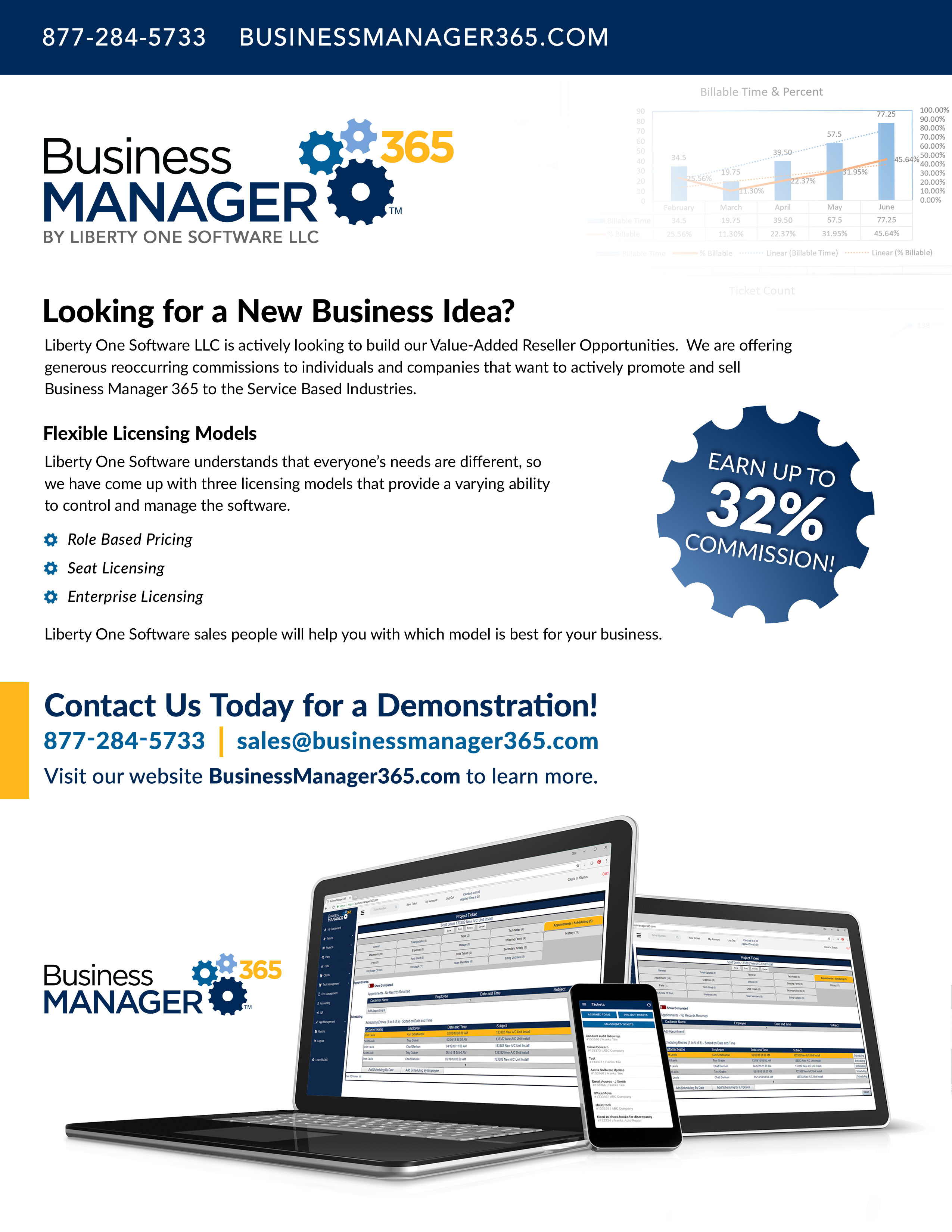 Business Manager 365 July 2018 Newsletter back cover