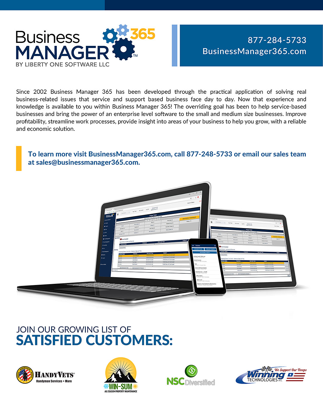 Business Manager 365 September 2019 Newsletter
